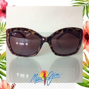 Womans Maui Jim Orchid - Rasberry Sunglasses - EUC